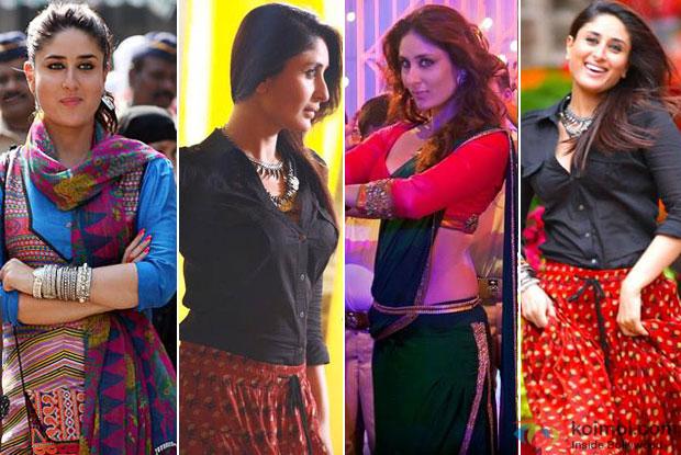 Kareena Kapoor in a still from movie 'Singham Returns'