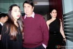 Karishma Kapoor and Kareena Kapoor Khan during the birthdya party of Randhir Kapoor