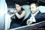 Kareena Kapoor Khan and Saif Ali Khan during the birthdya party of Randhir Kapoor