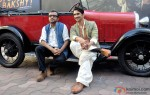 Sushant Singh Rajput and Dibakar Banerjee during the 2nd trailer launch of 'Detective Byomkesh Bakshy' Pic 1