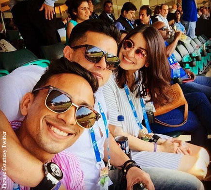 Anushka Sharma is in Sydney to cheer for Team India