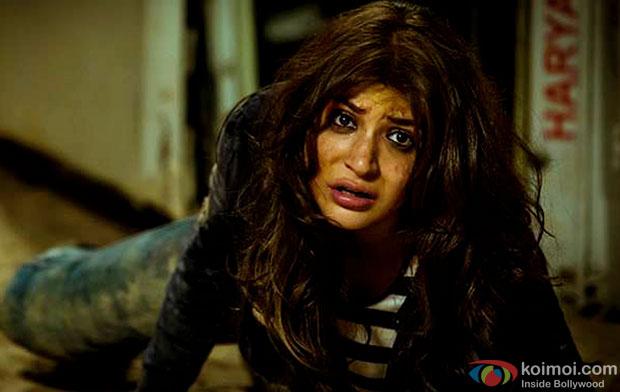 Anushka Sharma in a still from movie 'NH10'