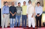 Aamir Khan, Vidhu Vinod Chopra and Amitabh Bachchan during the traier launch of 'Broken Horses' Pic 5
