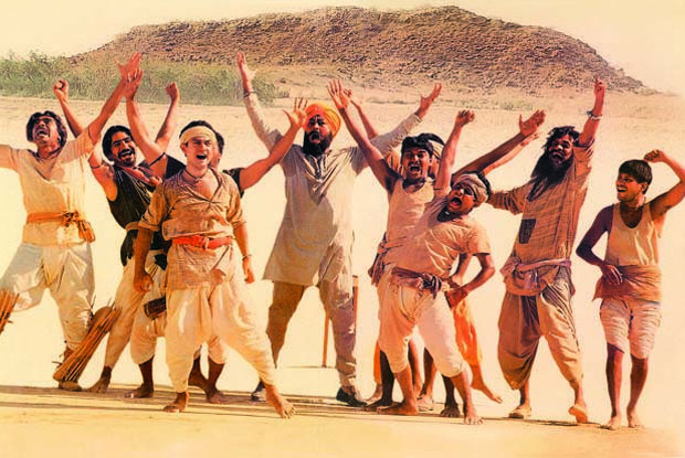 Aamir Khan in a still from movie 'Lagaan (2001)'