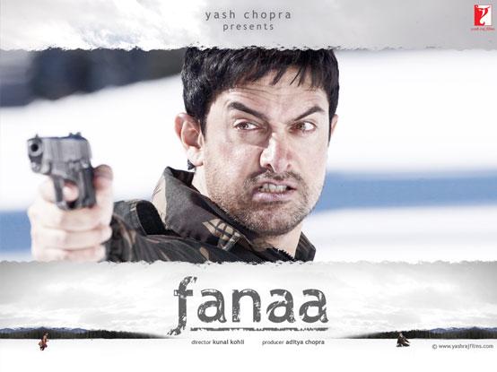 Aamir Khan in a still from movie 'Fanaa (2006)'