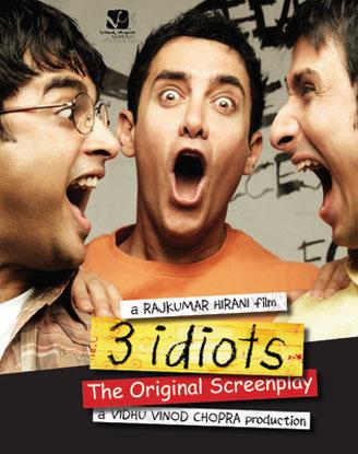 '3 Idiots (2009)' Movie Poster