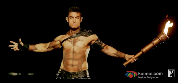 Aamir Khan in a still from movie 'Dhoom:3 (2013)'