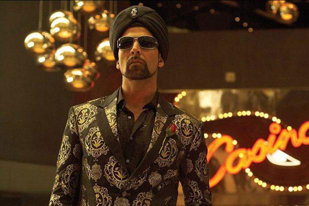 Akshay Kumar in a still from movie 'Singh Is Kinng (2008)'