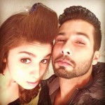 Alia Bhatt and Shahid Kapoor takes a grumpy selfie from the sets of Shaandaar