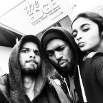 Bosco, Alia Bhatt and Shahid Kapoor on the sets of Shaandaar