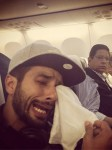 Shahid Kapoor's crying selfie on the last day of shoot of Shaandaar