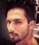 Tough look of Shahid Kapoor on the sets of Shaandaar