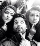 Shahid Kapoor on the sets of Shaandaar