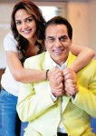 Dharmendra and Esha Deol