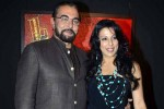 Kabir Bedi and Pooja Bedi