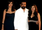Kamal Haasan With Shruti Haasan and Akshara Haasan