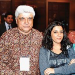 Javed Akhtar and Zoya Akhtar