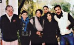 Mansoor Ali Khan Pataudi and Soha Ali Khan With Family