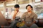Sushant Singh Rajput and Anand Tiwari in Detective Byomkesh Bakshy Movie Stills Pic 3