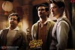 Anand Tiwari, Sushant Singh Rajput and Meiyang Chang in Detective Byomkesh Bakshy Movie Stills Pic 1