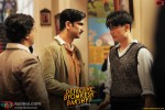 Anand Tiwari, Sushant Singh Rajput and Meiyang Chang in Detective Byomkesh Bakshy Movie Stills Pic 2