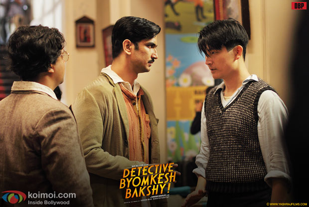 Sushant Singh Rajput in Detective Byomkesh Bakshy Movie Stills Pic 1