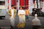 Sushant Singh Rajput and Anand Tiwari in Detective Byomkesh Bakshy Movie Stills Pic 1