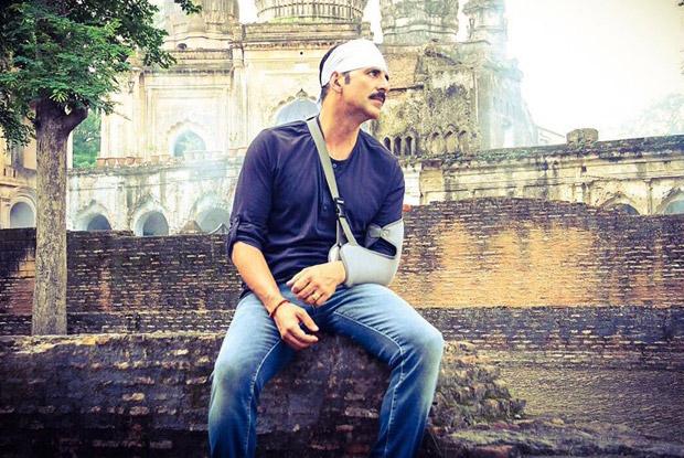 Akshay Kumar in a still from movie 'Jolly LLB 2 (2017)'