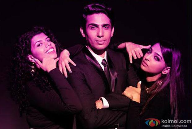 Veera Saxena, Gulshan Devaiah and Radhika Apte in a still from movie 'Hunterrr'