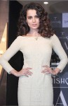 Kangana Ranaut dons a lace pencil dress