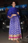 Kangana Ranaut dons a stunning royal blue silk lehenga