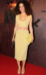 Kangana Ranaut seen in a yellow Burberry pencil dress