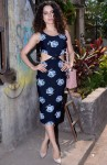 Kangana Ranaut looked impeccable in a floral print pencil dress
