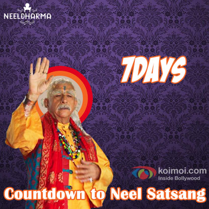 Naseeruddin Shah As 'Neelanand Baba' in movie Dharam Sankat Mein