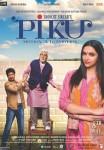 Amitabh Bachchan, Deepika Padukone and Irrfan Khan starrer Piku Movie Poster 1