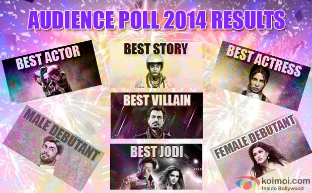 Koimoi Audience Poll 2014 Results