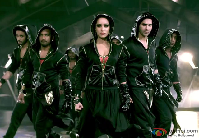 Shraddha Kapoor and Varun Dhawan in a still from movie 'ABCD – Any Body Can Dance – 2 (ABCD 2)'