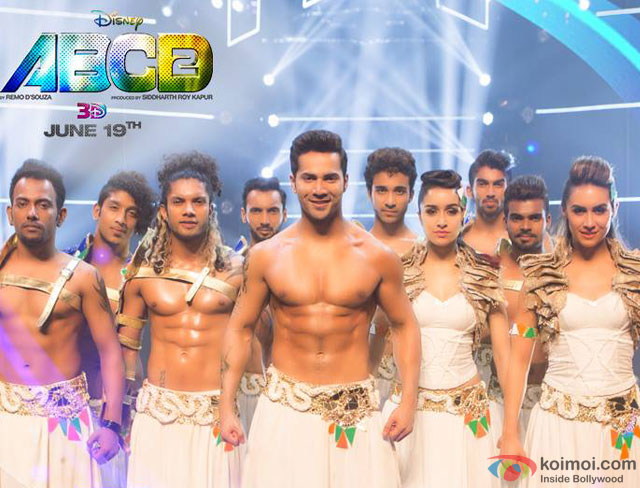 Varun Dhawan and Shraddha Kapoor in a still from movie 'ABCD Any Body Can Dance - 2'