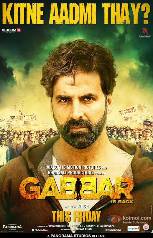 Akshay Kumar starrer 'Gabbar Poster' Movie Poster
