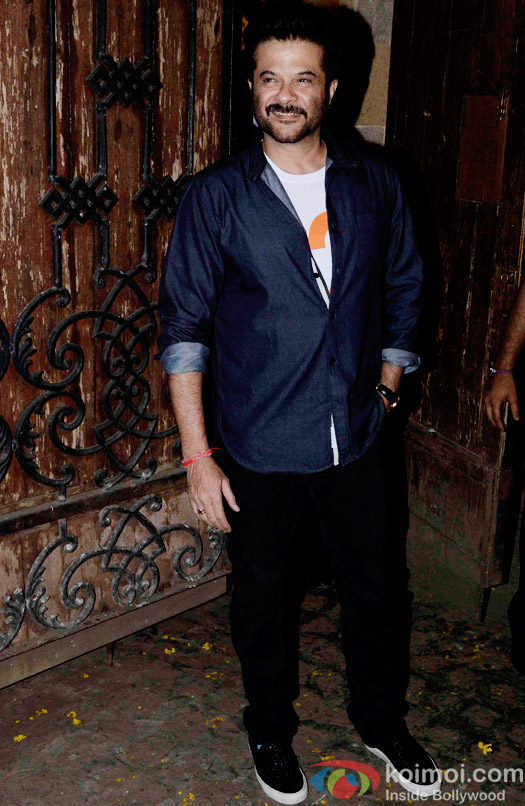 Anil Kapoor Hosted A Get Together For A Trailer Of Dil Dhadakne Do
