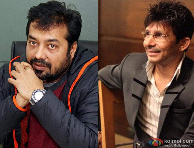 Anurag Kashyap and Kamaal Rashid Khan (KRK)