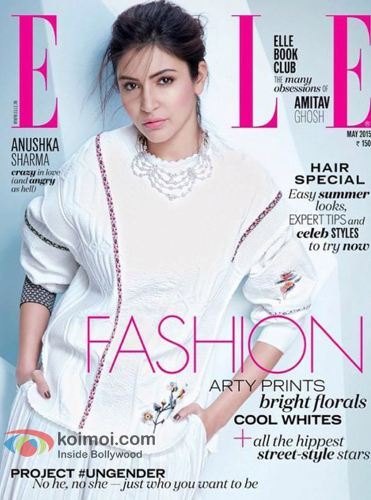 Anushka Sharma Goes 'Crazy In Love' On Elle Cover