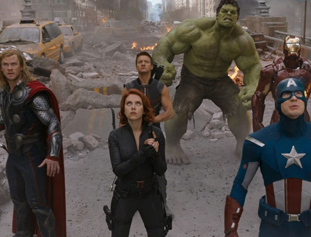 still from movie 'Avengers : Age Of Ultron'