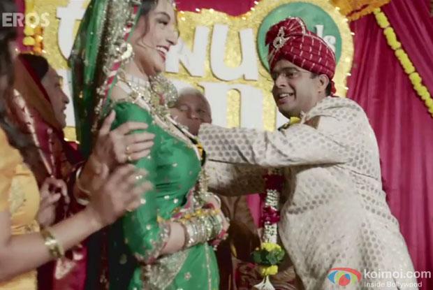 Kangana Ranaut and R. Madhavan in 'Banno Tera Swagger' song still from movie 'Tanu Weds Manu Returns'