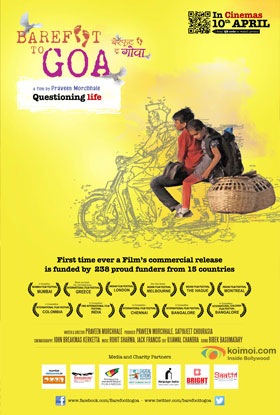 Barefoot To Goa Movie Poster