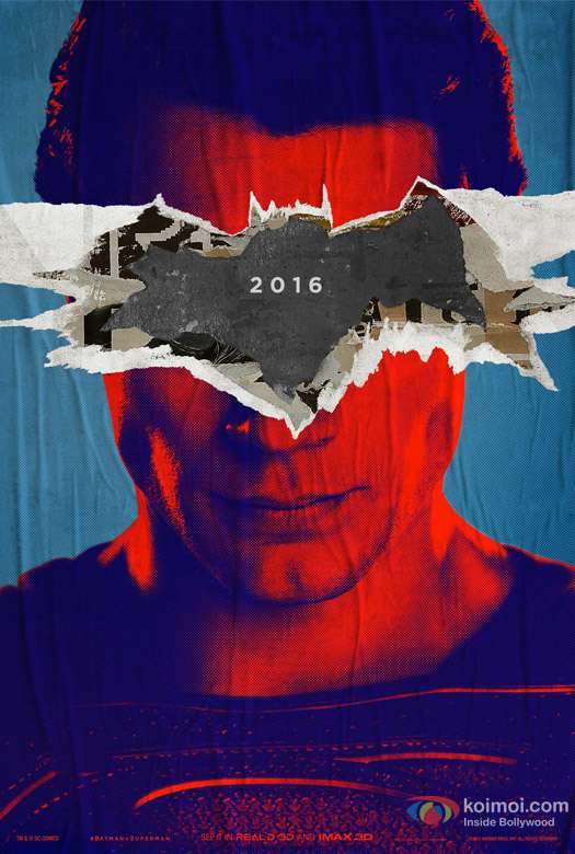 Batman v Superman: Dawn of Justice Movie First Look Poster