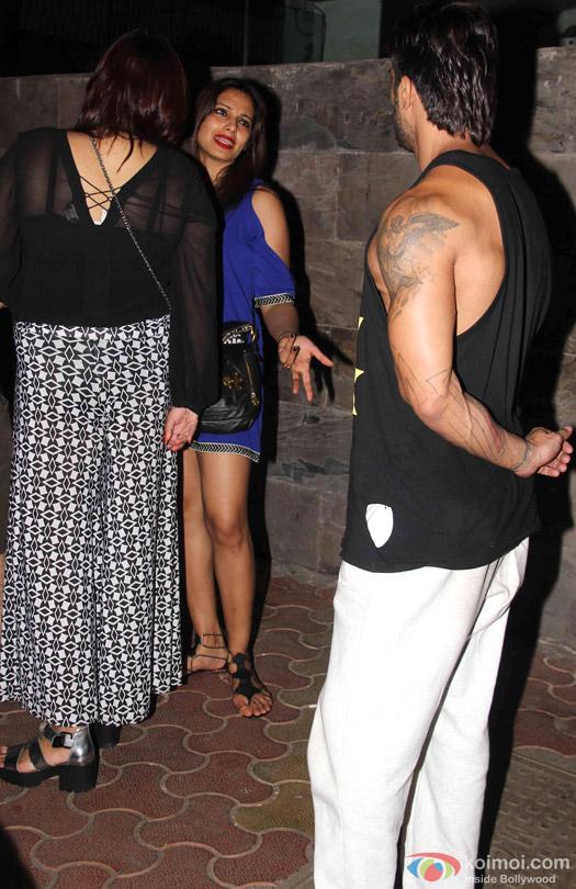 Bipasha Basu And Karan Singh Grover Spotted At Bandra