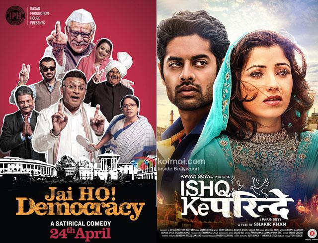 Jai Ho! Democracy and Ishq Ke Parindey Movie Poster
