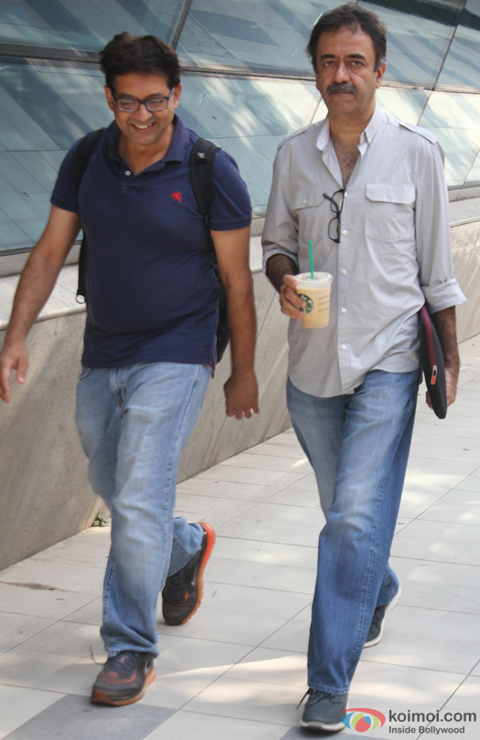 Rajkumar Hirani Spotted At Domestic Airport