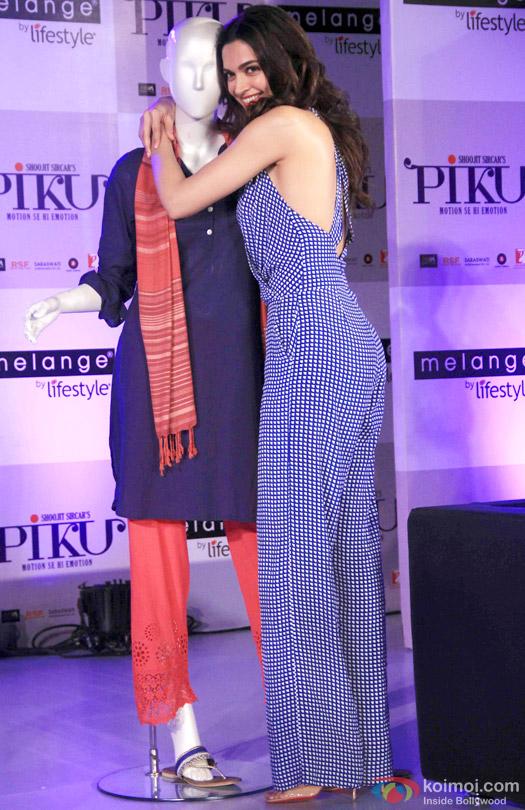 Deepika Padukone during the promotion of movie 'Piku'